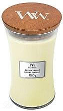Profumi e cosmetici Candela profumata in bicchiere - WoodWick Hourglass Candle Fig Leaf and Tuberose