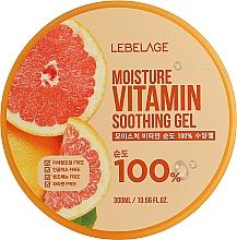 Profumi e cosmetici Gel idratante al pompelmo - Lebelage Moisture Vitamin 100% Soothing Gel