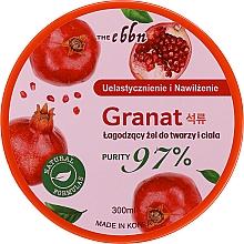 Profumi e cosmetici Gel lenitivo per corpo e viso - The Ebbn Soothing Face And Body Gel Pomegranate 97%