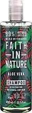 """Profumi e cosmetici Shampoo per capelli normali e grassi """"Aloe Vera"""" - Faith In Nature Aloe Vera Shampoo"""