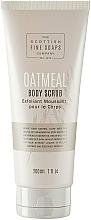 Profumi e cosmetici Scrub corpo - Scottish Fine Soaps Oatmeal Body Scrub