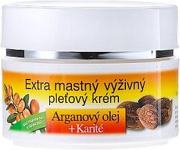 Crema viso nutriente con olio di argan - Bione Cosmetics Argan Oil Extra Greasy Nourishing Facial Cream — foto N2