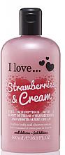 Profumi e cosmetici Crema doccia e bagnoschiuma - I Love... Strawberries & Cream Bubble Bath And Shower Creme
