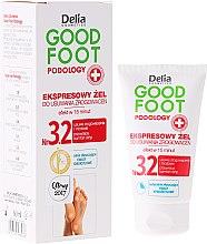 Profumi e cosmetici Gel per rimuovere calli - Delia Cosmetics Good Foot Podology Nr 3.2