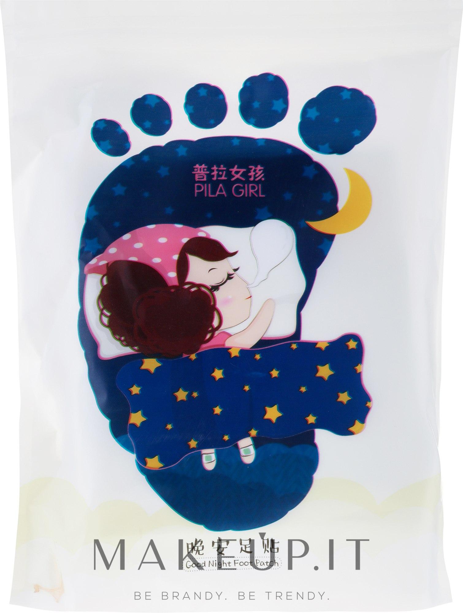 Trattamento detossinante patch piedi da notte - Pilaten Good Night Patch — foto 14 pz.