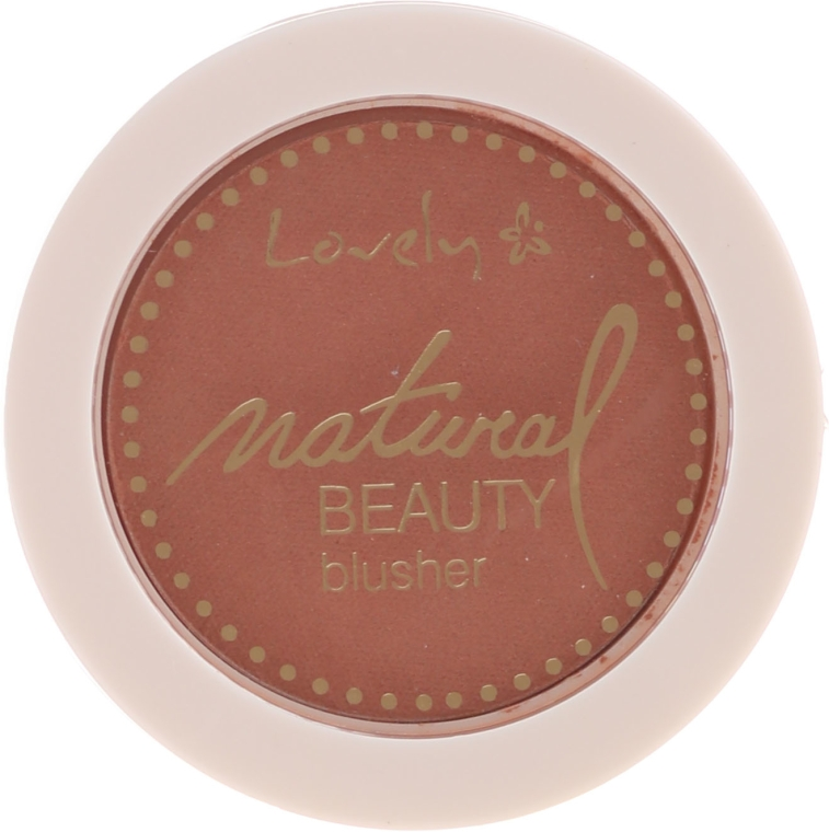 Blush compatto - Lovely Natural Beauty Blusher
