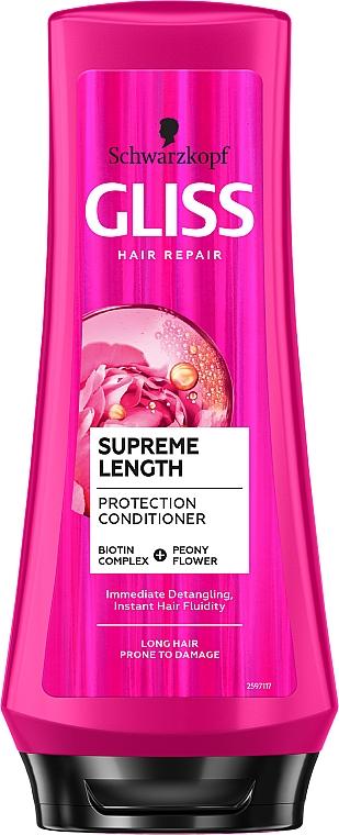 Condizionante capelli rigenerante - Schwarzkopf Gliss Kur Supreme Length Conditioner