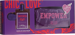 Profumi e cosmetici Chic&Love Empower - Set (edt/100ml + bag)