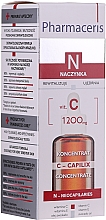 Profumi e cosmetici Concentrato levigante viso, da notte, con vitamina C 1200 mg - Pharmaceris N Serum with Vit. C 1200mg Strengtening and Smoothing