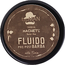 Profumi e cosmetici Fluido prima e dopo rasatura - BioBotanic BioMAN Pre/After Shave Fluid