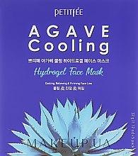 Profumi e cosmetici Maschera idrogel di raffreddamento con estratto di agave - Petitfee&Koelf Agave Cooling Hydrogel Face Mask