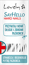 Profumi e cosmetici Balsamo per la cura delle unghie - Lovely Say Hello Hard Nails