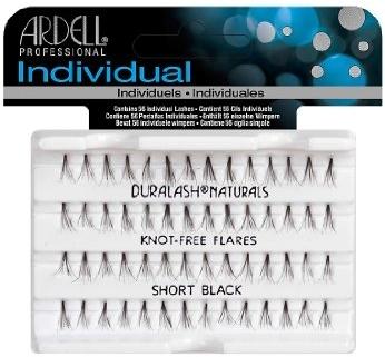 Ciglia finte a ciuffetti - Ardell Duralash Individual Flare Short Black