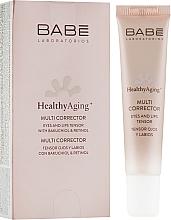 Profumi e cosmetici Multi-correttore contorno occhi e labbra con effetto antietà - Babe Laboratorios Healthy Aging Multi Corrector