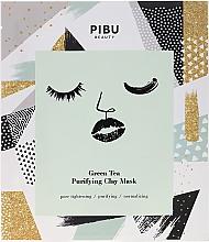 Profumi e cosmetici Maschera con argilla e tè verde - Pibu Beauty Green Tea Purifying Clay Mask