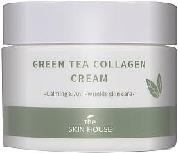 Profumi e cosmetici Crema lenitiva all'estratto di tè verde e collagene - The Skin House Green Tea Collagen Cream