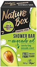 Profumi e cosmetici Sapone naturale - Nature Box Avocado Oil Shower Bar