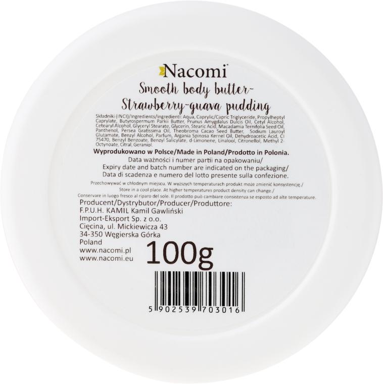 Burro corpo - Nacomi Smooth Body Butter Strawberry-Guawa Pudding — foto N2
