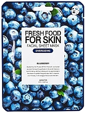 "Profumi e cosmetici Maschera viso ""Mirtillo"" - Superfood For Skin Facial Sheet Mask Blueberry Energizing"