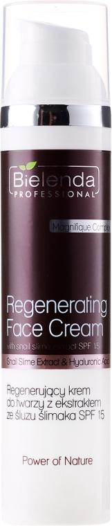 Crema viso rivitalizzante con estratto di bava di lumaca - Bielenda Professional Power Of Nature Cream SPF 15
