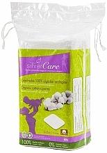 Profumi e cosmetici Dischetti struccanti, 60 pezzi - Silver Care Cotton Squares