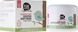 Profumi e cosmetici Crema per la pelle sensibile - Pure Beginnings Probiotic Baby Sensitive Body Cream