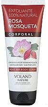 Profumi e cosmetici Scrub corpo - Voland Nature Rose Hip Body Scrub