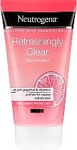 Profumi e cosmetici Scrub viso al pompelmo rosa e vitamina C. - Neutrogena Refreshingly Clear Daily Exfoliator