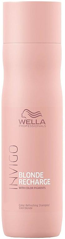 Shampoo anti-giallo - Wella Professionals Invigo Blonde Recharge Color Refreshing Shampoo
