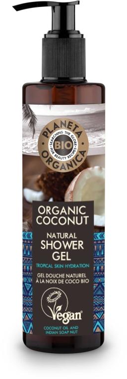 Gel doccia idratante - Planeta Organica Organic Coconut Natural Shower Gel