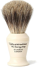 Profumi e cosmetici Pennello da barba, P375 - Taylor of Old Bond Street Shaving Brush Pure Badger size M