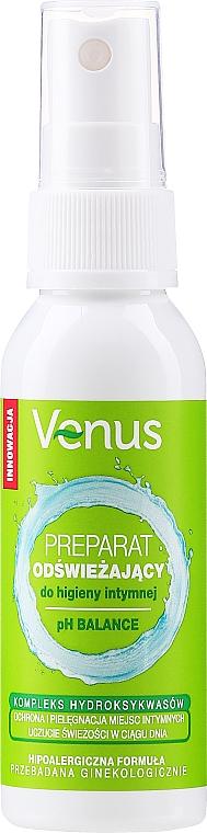 Spray rinfrescante per l'igiene intima - Venus Refreshing Preparation Intimate Hygiene — foto N1