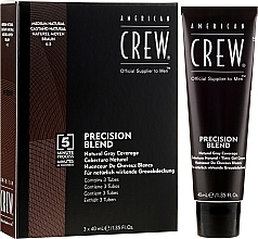Profumi e cosmetici Sistema di mascheratura di capelli grigi - American Crew Precision Blend Shades