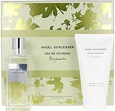 Profumi e cosmetici Angel Schlesser Eau De Cologne Bergamota - Set (edc/100ml+sh/gel/150)