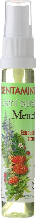 Collutorio spray - Bione Cosmetics Dentamint Mouth Spray Menthol