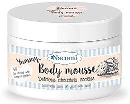 """Profumi e cosmetici Mousse corpo """"Biscotti al cioccolato"""" - Nacomi Body Mousse"""
