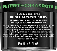 Profumi e cosmetici Maschera viso purificante - Peter Thomas Roth Irish Moor Mud Purifying Black Mask