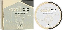 "Profumi e cosmetici Patch contorno occhi idrogel ""Oro & Coenzima Q10"" - Juno Medibeau Hydrogel Eye Patches Gold&Q10"
