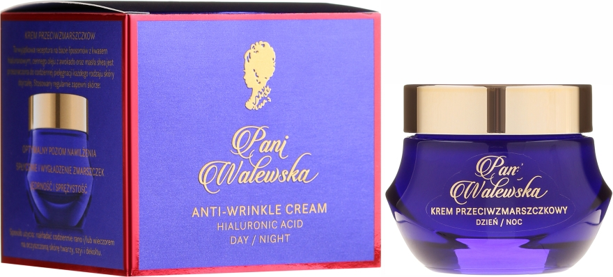 Crema protettiva antirughe rigenerante - Pani Walewska Classic Anti-Wrinkle Day And Night Cream
