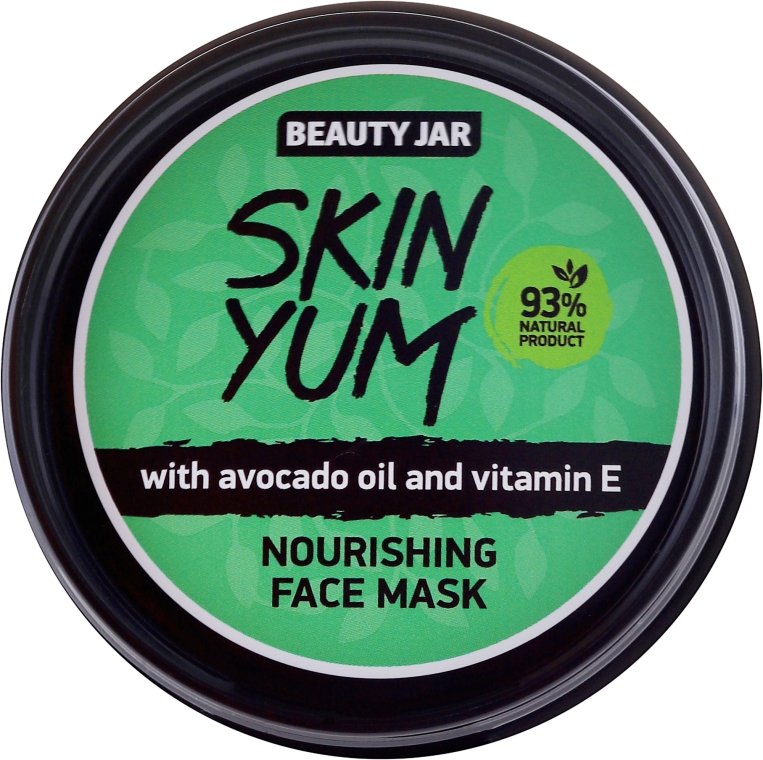 Maschera viso nutriente - Beauty Jar Skin Yum Nourishing Face Mask
