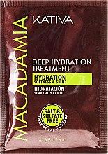 Profumi e cosmetici Maschera capelli idratante - Kativa Macadamia Deep Hydrating Treatment