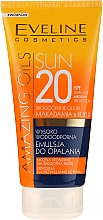 Profumi e cosmetici Emulsione solare SPF20 - Eveline Cosmetics Amazing Oils