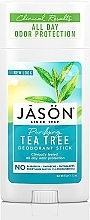 Profumi e cosmetici Deodorante «Tea tree» - Jason Natural Cosmetics Pure Natural Deodorant Stick Tea Tree