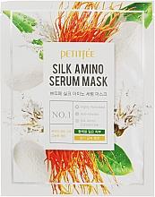 Profumi e cosmetici Maschera viso alle proteine della seta - Petitfee&Koelf Silk Amino Serum Mask