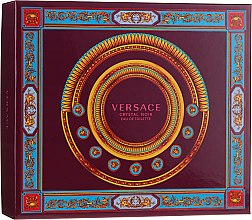 Profumi e cosmetici Versace Crystal Noir - Set (edt/90ml + b/lot150ml + edt/10ml)