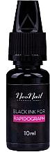 Profumi e cosmetici Inchiostro per Rapidograph, nero - NeoNail Professional Black Ink For Rapidograph