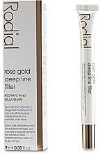 Profumi e cosmetici Filler contro le rughe profonde - Rodial Rose Gold Deep Line Filler