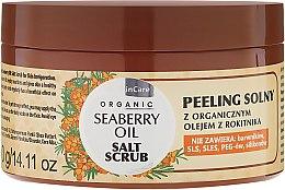 Profumi e cosmetici Scrub al sale per corpo - GlySkinCare Organic Seaberry Oil Salt Scrub