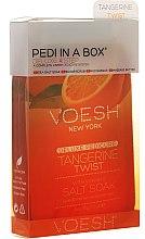 """Profumi e cosmetici Set per pedicure """"Mandarino"""" - Voesh Deluxe Pedicure Tangerine Twist Pedi In A Box 4 in 1"""