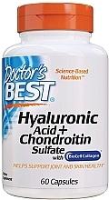 Profumi e cosmetici Acido ialuronico con solfato di condroitina e collagene - Doctor's Best Hyaluronic Acid with Chondroitin Sulfate Capsules